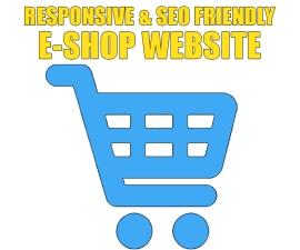 RESPONSIVE E-SHOP WEBSITE
